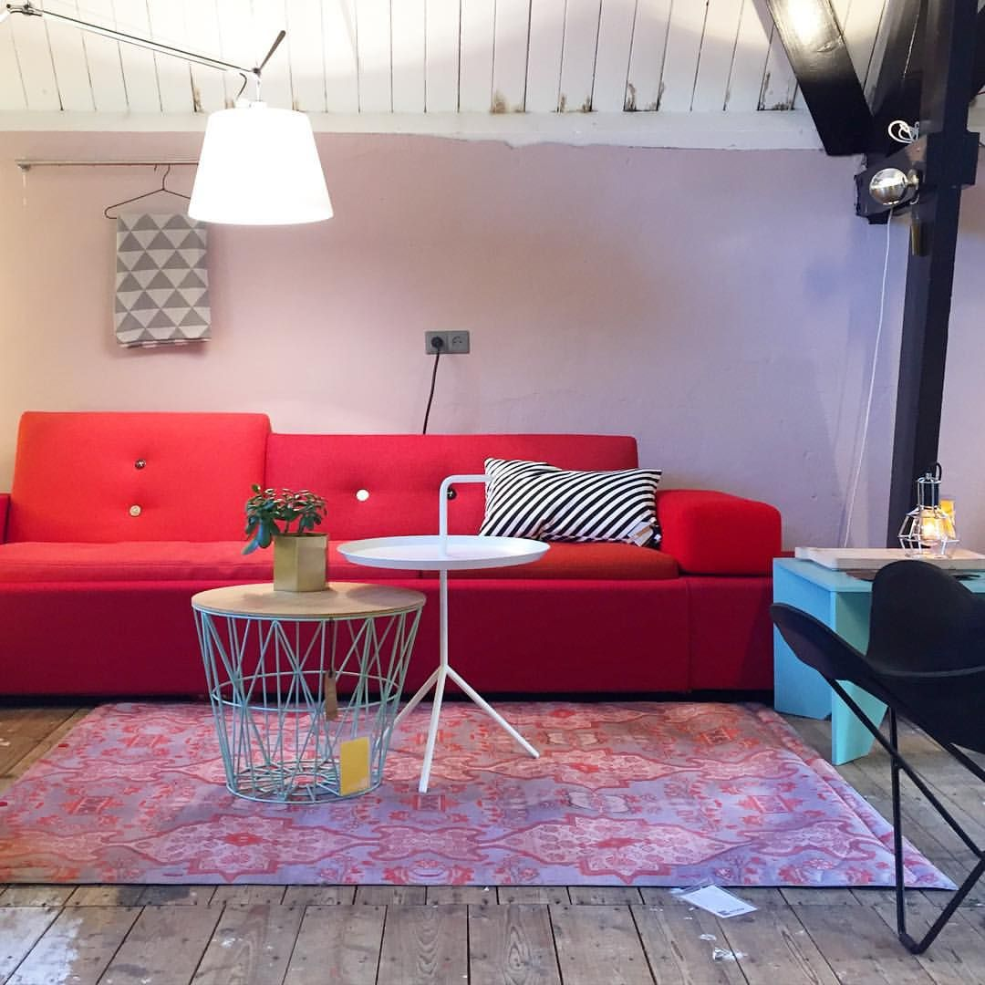 Have a nice evening! #poldersofa #dlm #vitra #hay #fermliving ...