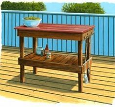 This Is Your Woodworking Search Result For FREE BBQ TABLE PLANS Woodworking  Plans And Information At WoodworkersWorkshop®
