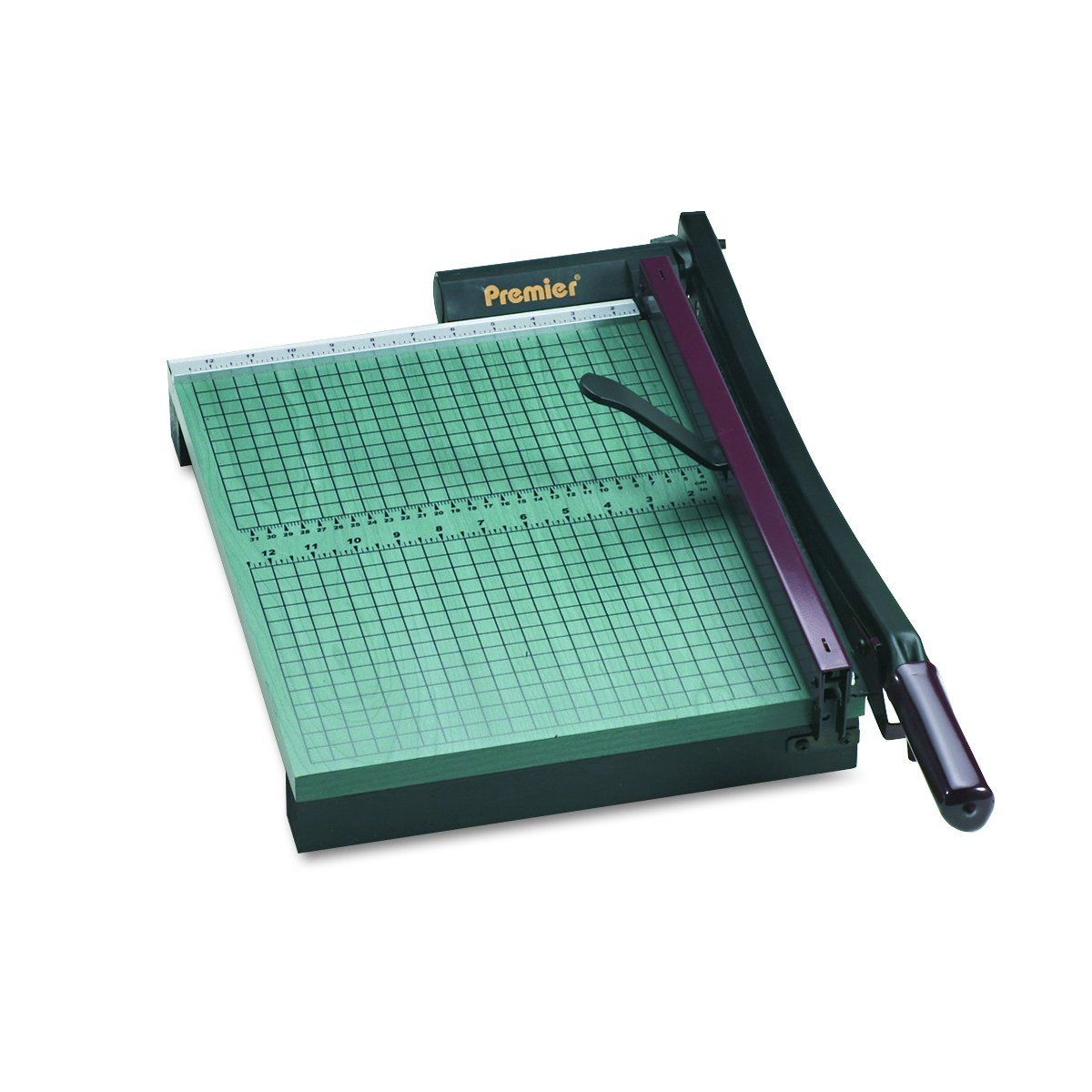 Premier 715 Stackcut Heavy Duty Trimmer Green Table Size 12 1 2 X 15 Permanent 1 2 Grid And Dual English And Me Craft Table Paper Trimmers Magnetic Paper