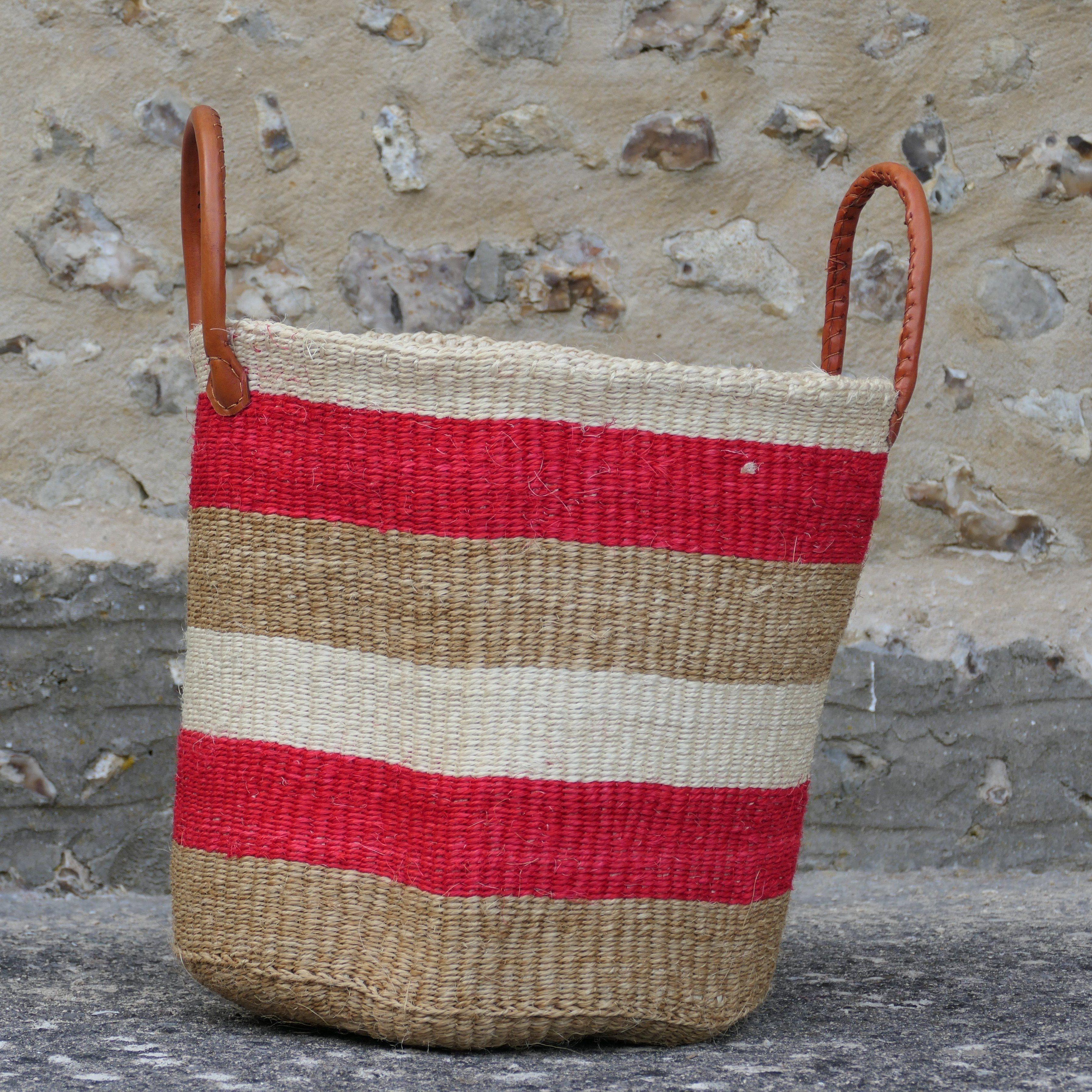 Sisal Baskets - Kapu Red Sand