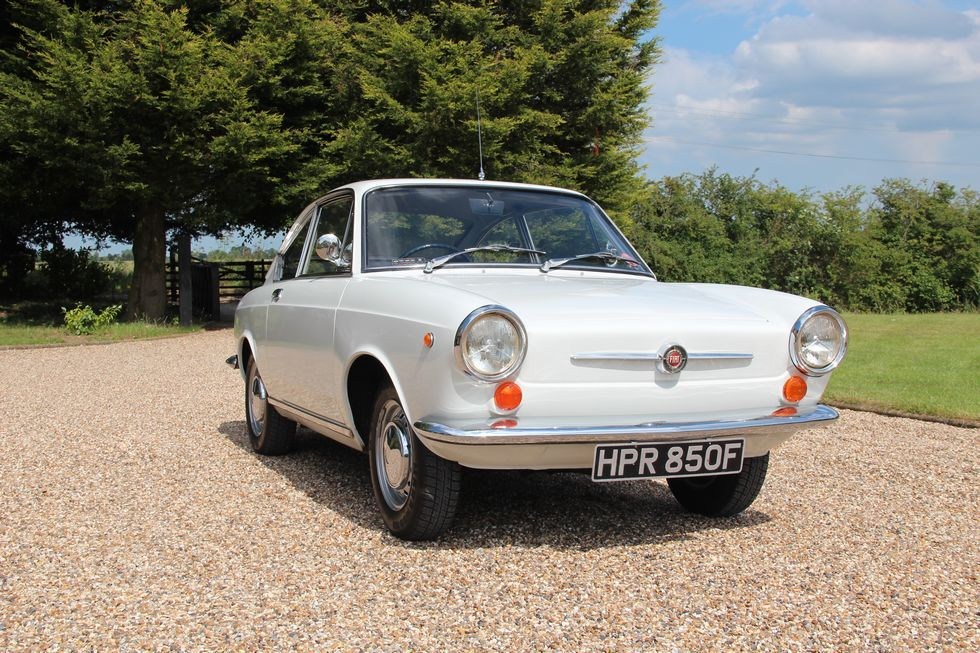 Fiat 850 Coupe Series 1 For Sale At Middle Barton Garage Fiat