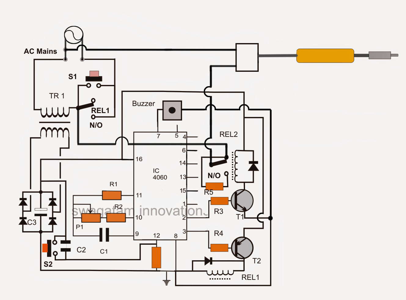Automatic Soldering Iron Power Shut Off
