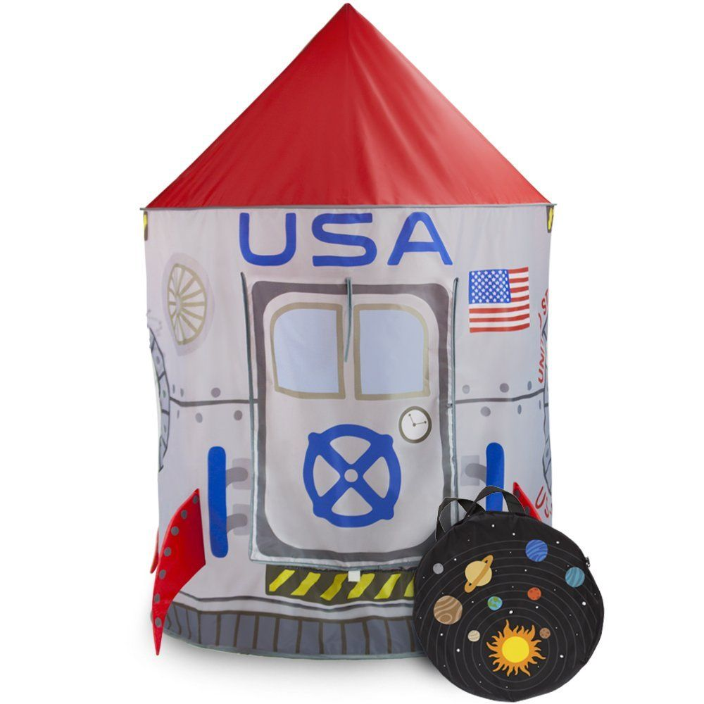 Space Adventure Roarinu0027 Rocket Play Tent with Milky Way Storage Bag by Imagination Generation  sc 1 st  Pinterest & Space Adventure Roarinu0027 Rocket Play Tent with Milky Way Storage ...
