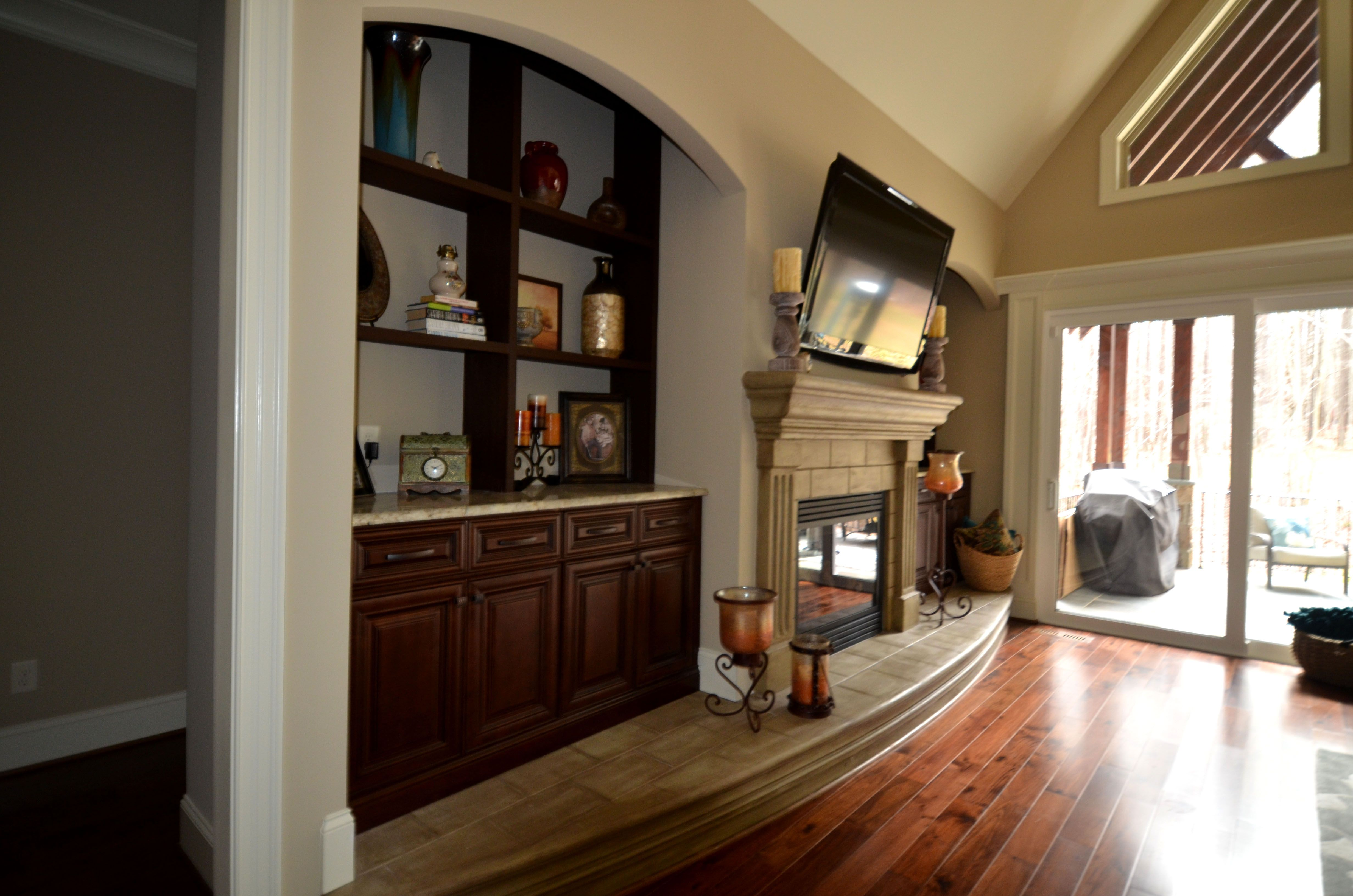 Family Room Charleston Saddle Cabinets Lily Ann Cabinets Com Family Room Kitchen Cabinet Organization Lily Ann Cabinets