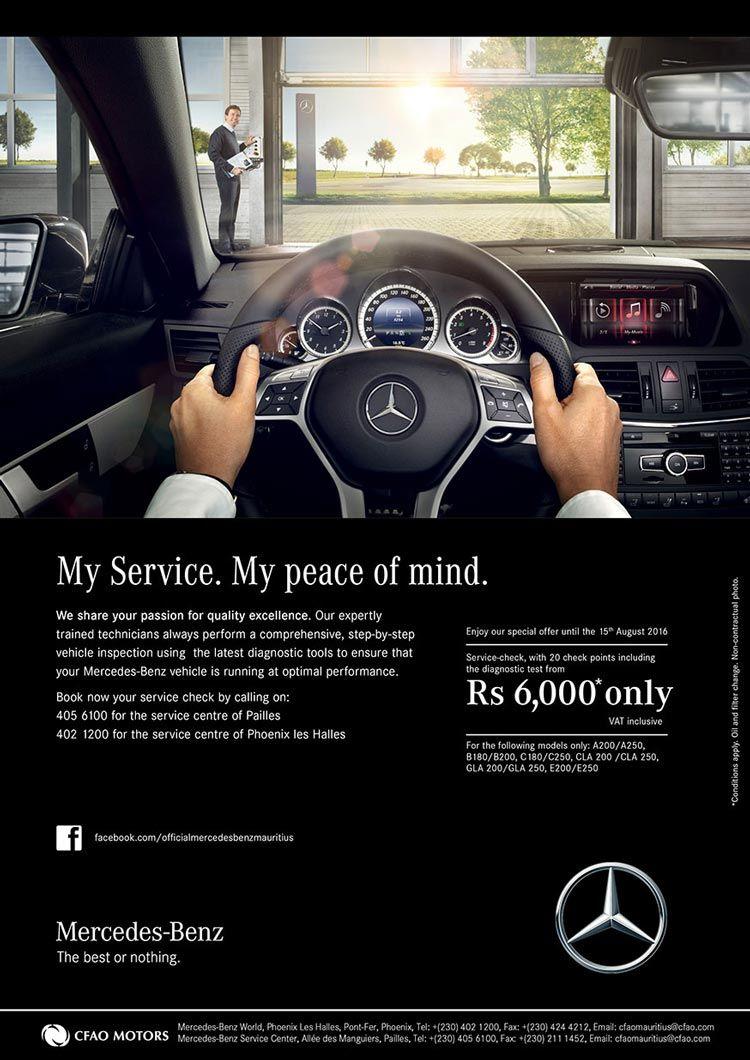 Cfao Motors Mercedes Benz Service Check Special Offer Tel 402