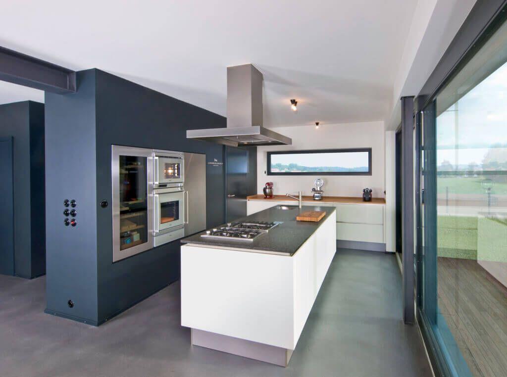 Einrichtungsideen Küche Haus Frey_Baufritz - Küche einrichten modern ...