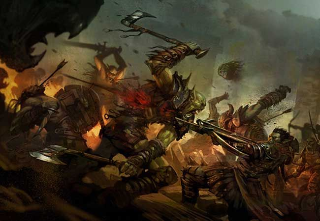 battle scene by mandryk cool artwork pinterest
