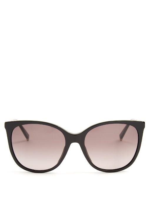 b71c55ff176 MAX MARA Design D-Frame Acetate Sunglasses.  maxmara  sunglasses ...