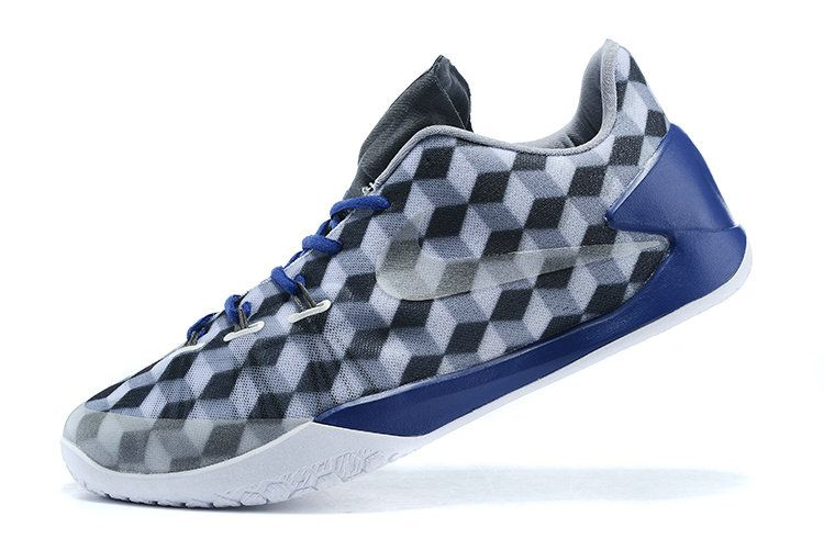 12d39603cf Nike Hyperchase Euro Geometric fragment design x Print Grey Blue Lighting