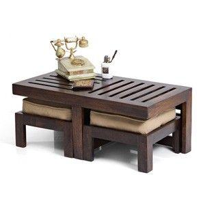 Kafano Coffee Table Set (Walnut Finish) | Hmmmm... | Pinterest ...
