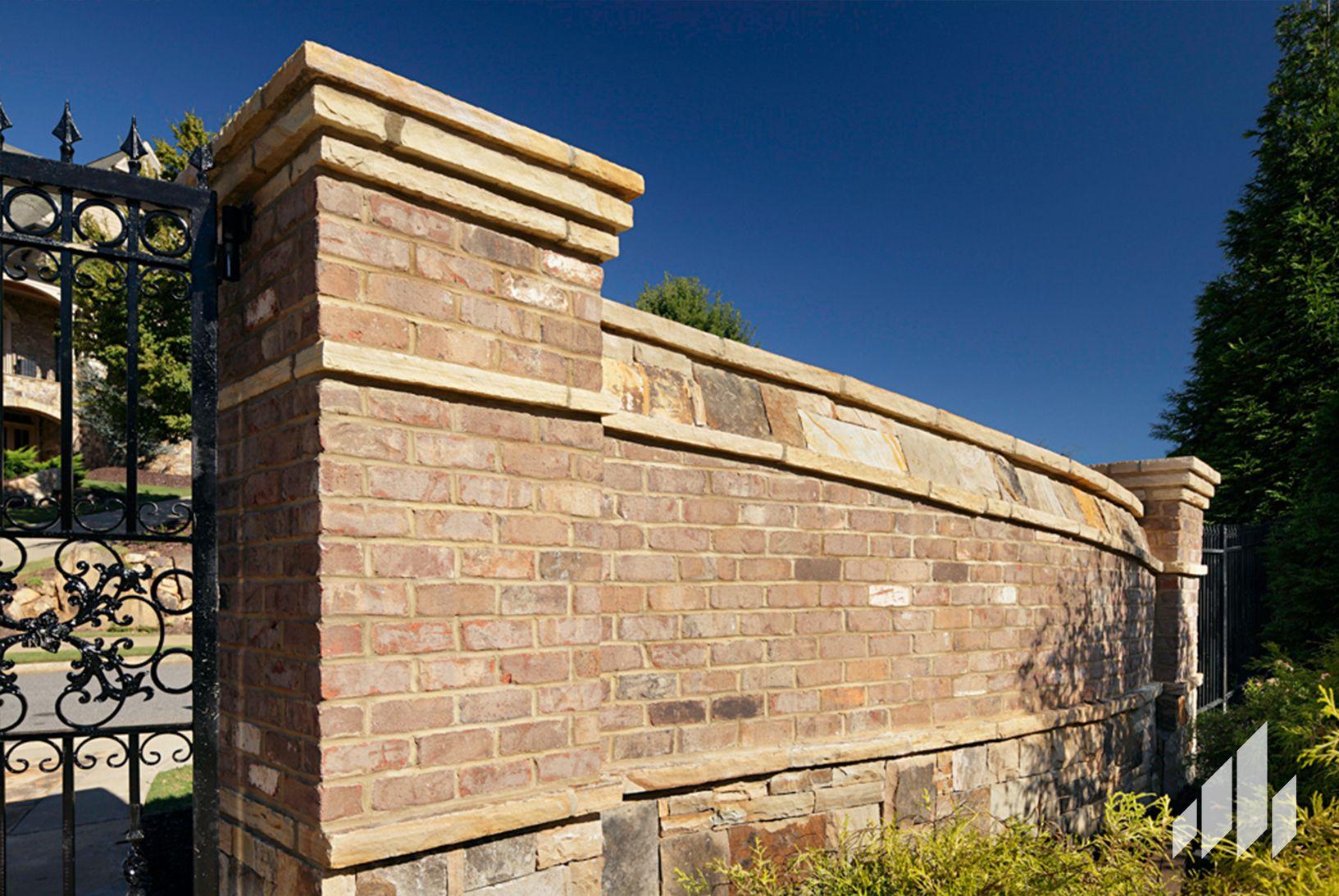 General Shale Silas Lucas Brick Brick Wall Gardens Concrete Pavers Brick