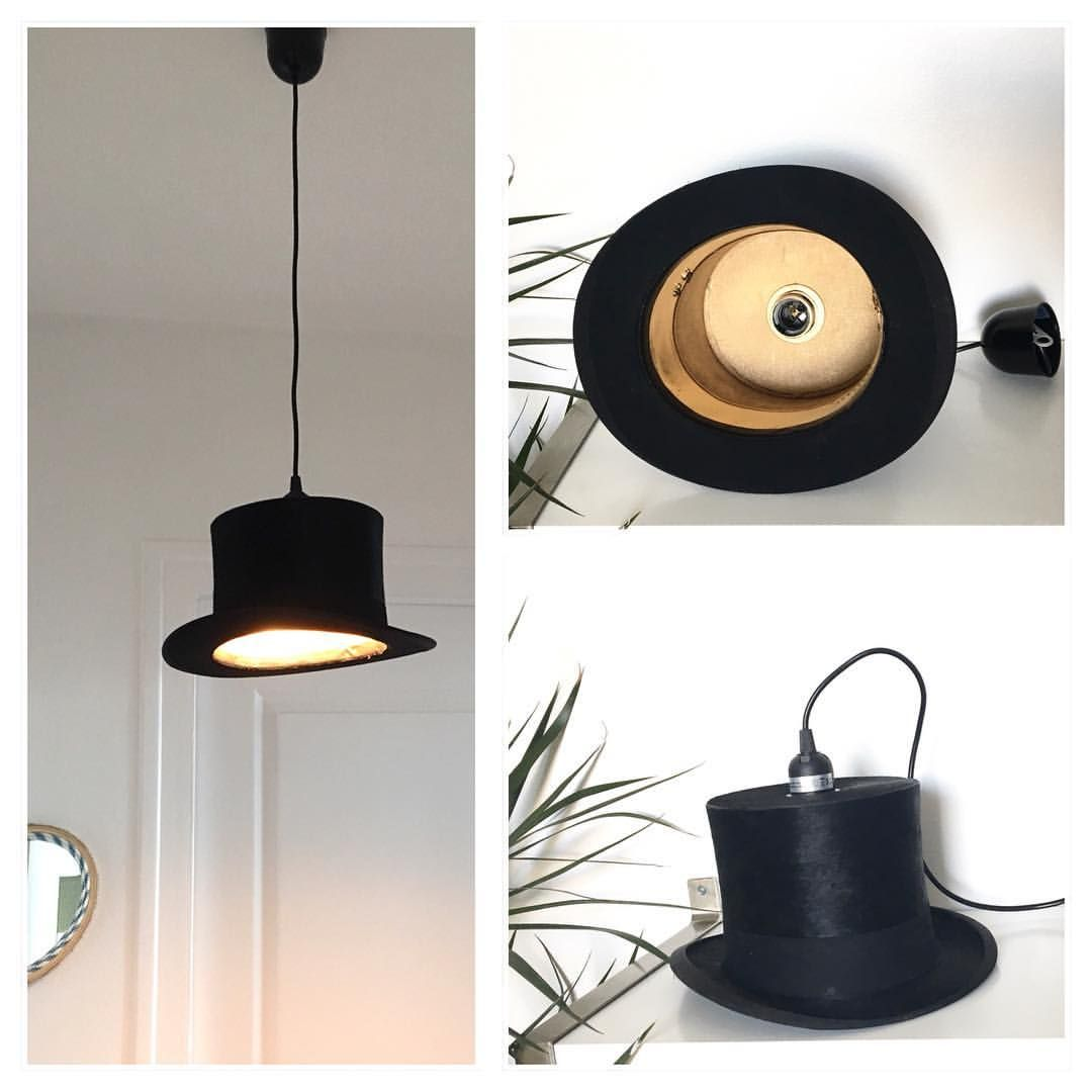 Luminaire Suspension Vintage Suspension Luminaire Haut De Forme Ancien En Soie Creation