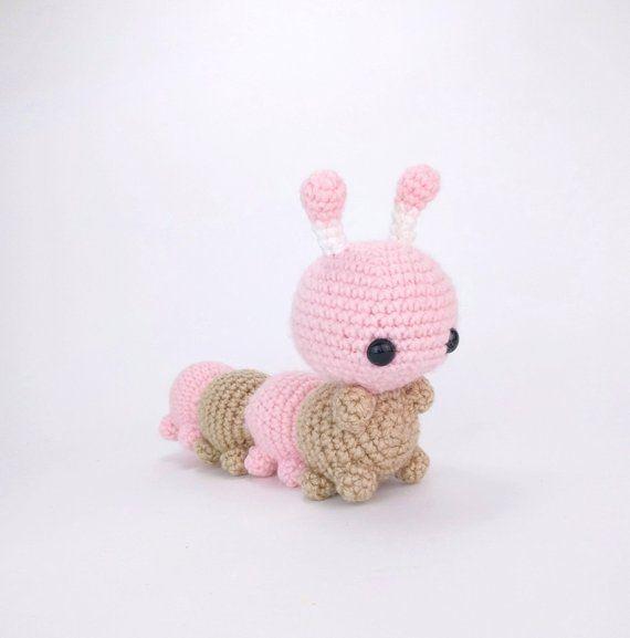 PATTERN: Caity the Caterpillar - Crochet caterpill