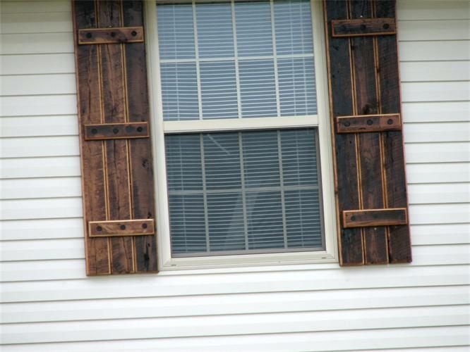 Exterior Shutter Colors Ideas Decorative Styles Reclaimed Barn Wood Shutters Love The