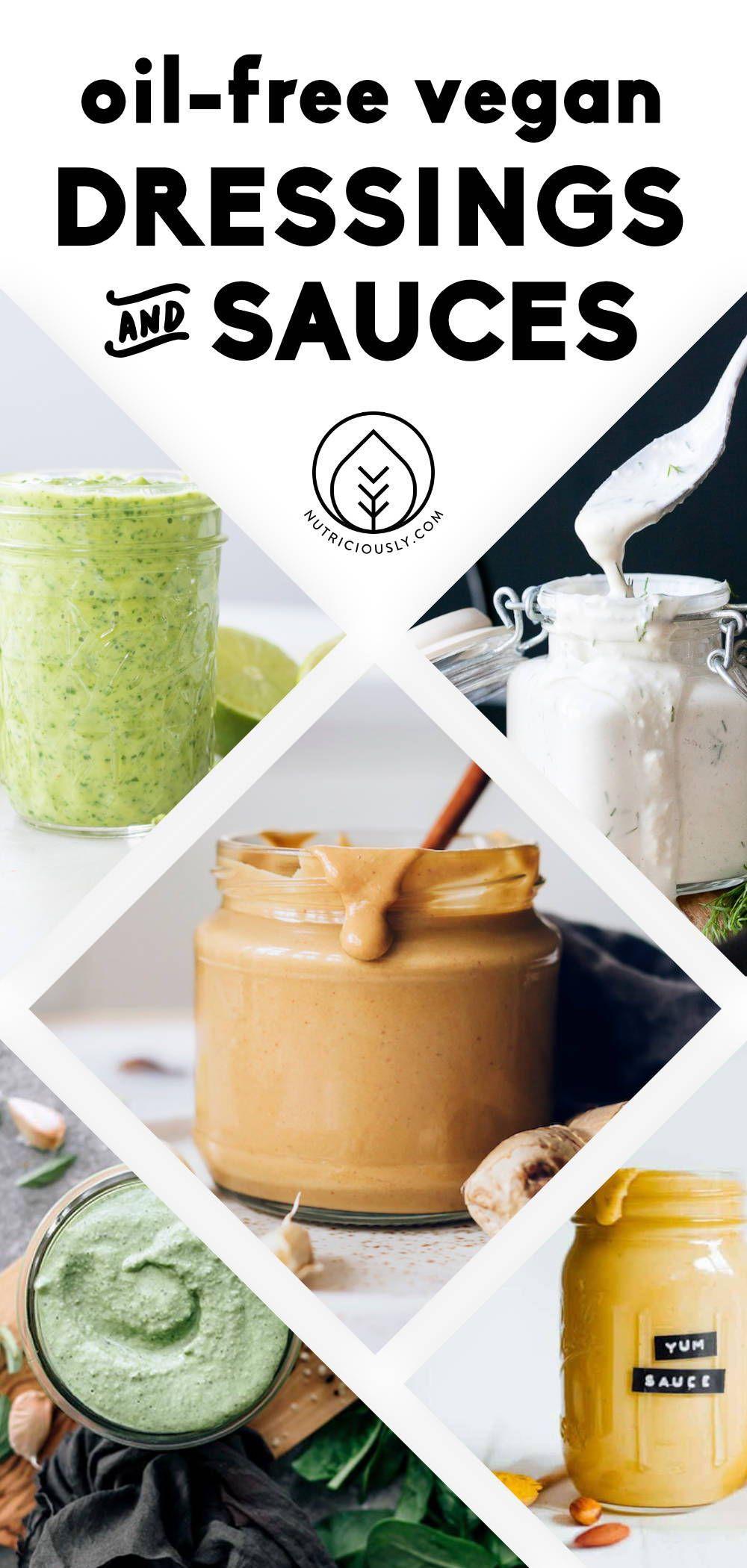 35+ Best OilFree Vegan Salad Dressings & Sauces in 2020
