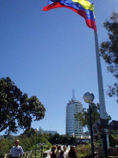 Paseo frente al Hotel Humbold, el Avila,Caracas.