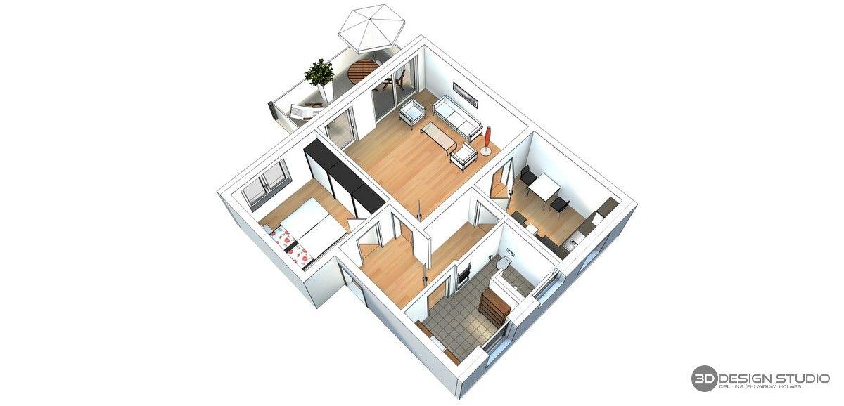 Pin von 3D Design Studio DiplIng. ( auf 3D Grundrisse