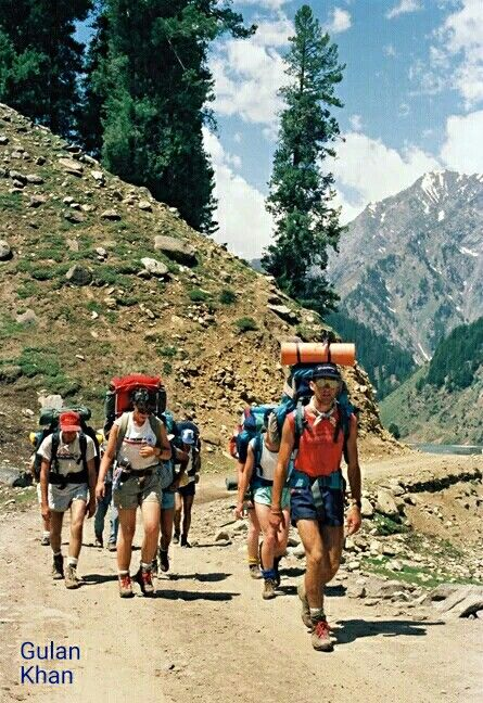 So wonderful view,foreigners visited Kalam Swat valley