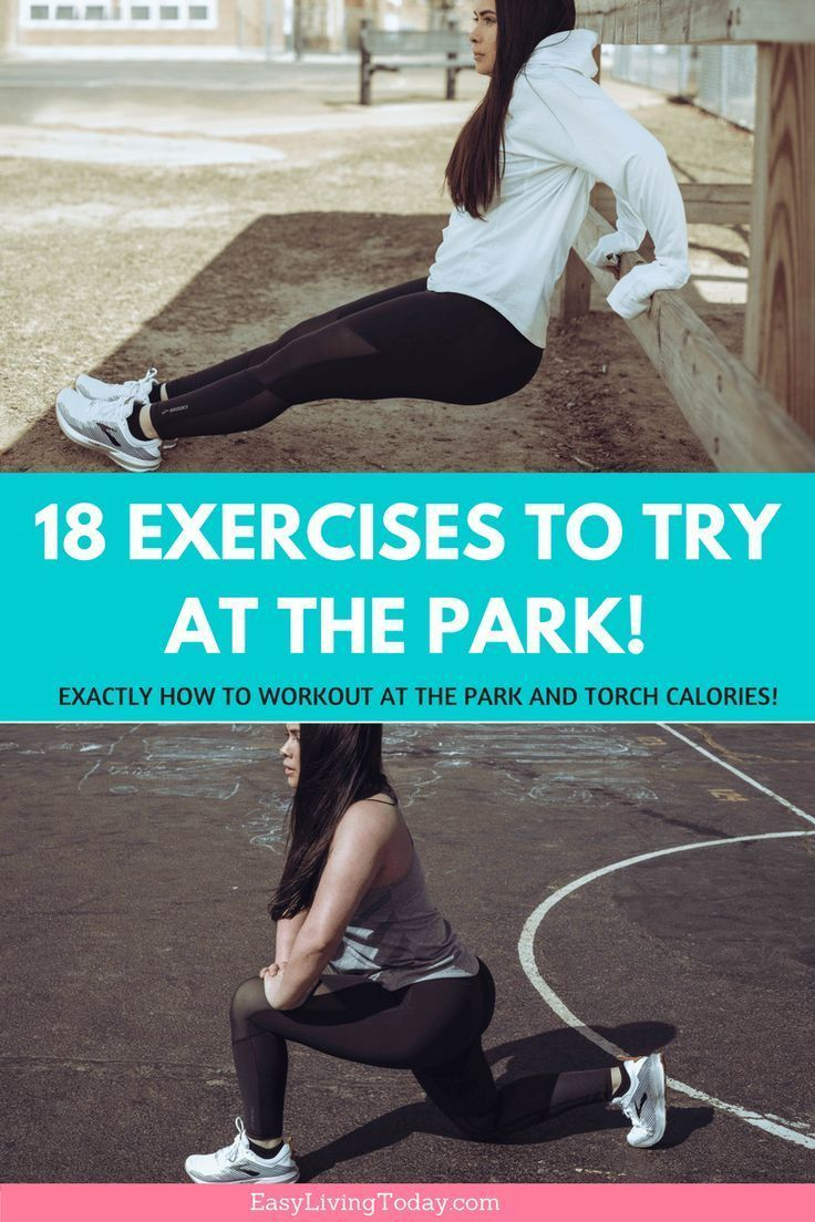 Can't make it to the gym? No problem! Hit the parks with your kids and try this playground workout....