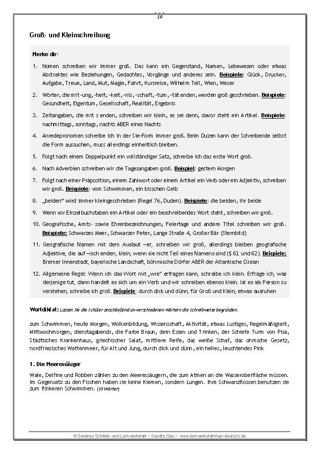 Kurze Diktate Mit Nebeneffekt Teil 1 Unterrichtsmaterial Im Fach Deutsch Rechtschreibregeln Deutsche Rechtschreibung Lernmethoden