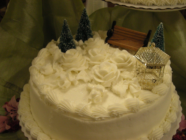 Kate's wedding cake.