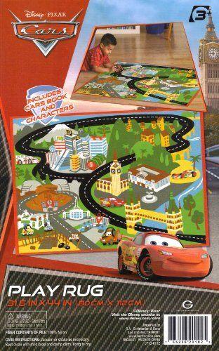Disney Pixar Cars Play Rug 31 5 In X 44 By 30 47
