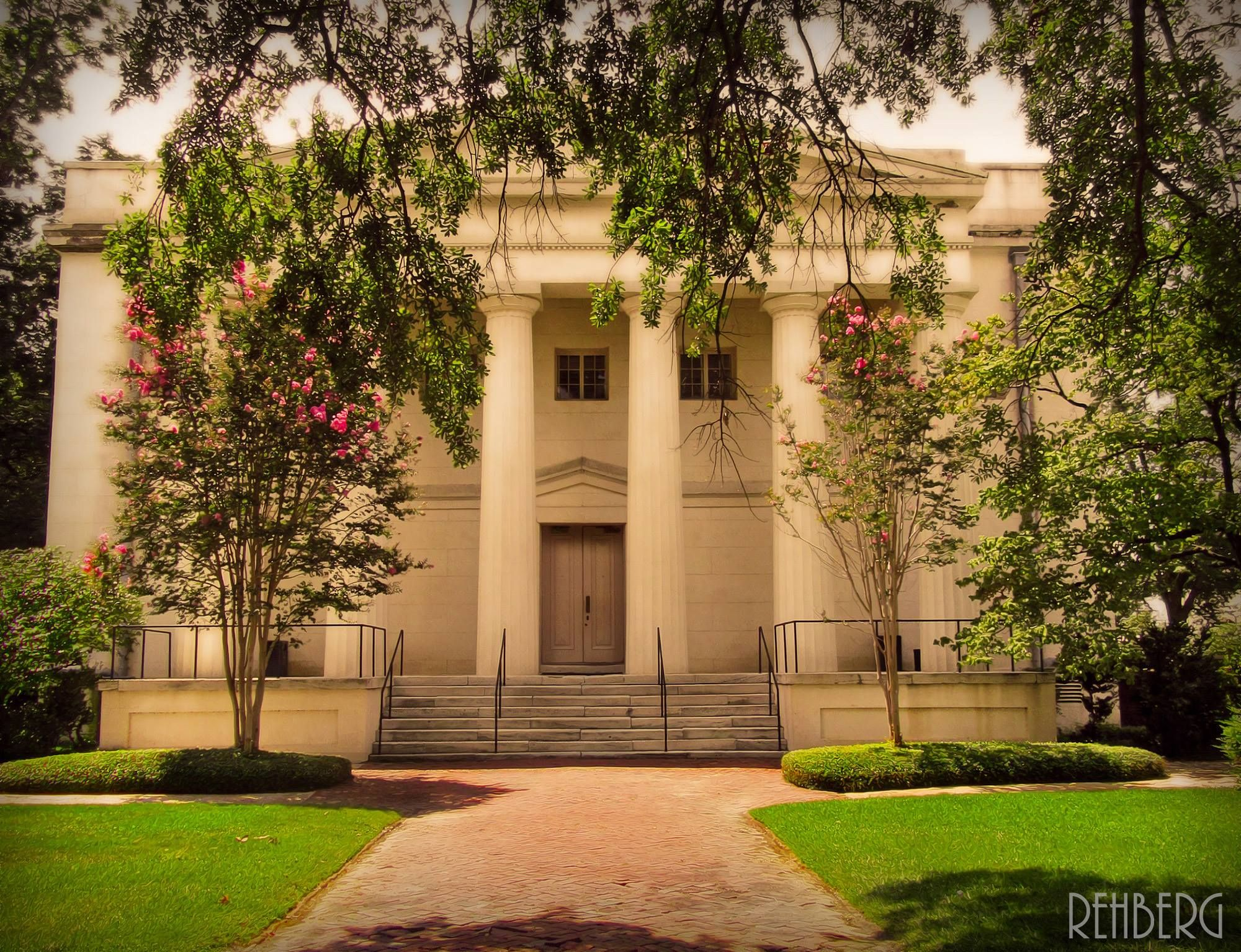 The old Medical College of Georgia in Olde Towne Augusta, GA ...