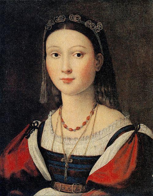 Raphael. Eleanora Gonzaga, c1505