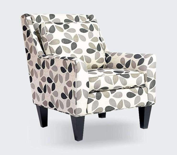 Custom Fabric Accent Chairs.Blossom Custom Accent Chair In 2019 Furniture Accent Chairs