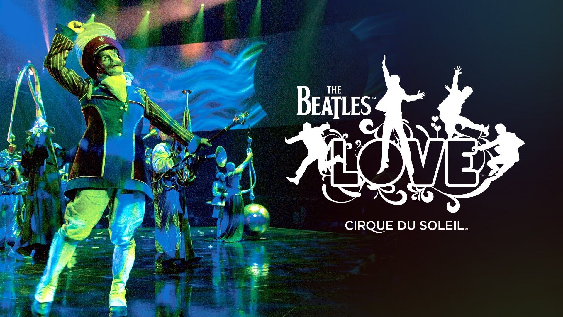 The Beatles LOVE | Cirque du Soleil | Official Trailer (+playlist ...