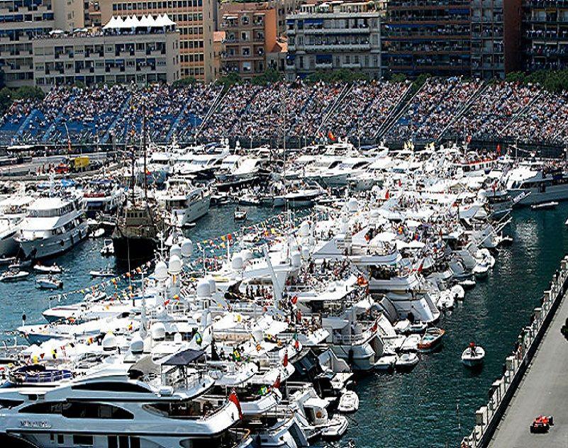 Monte Carlo Yachts Viewing Of Monaco Grand Prix Formula 1