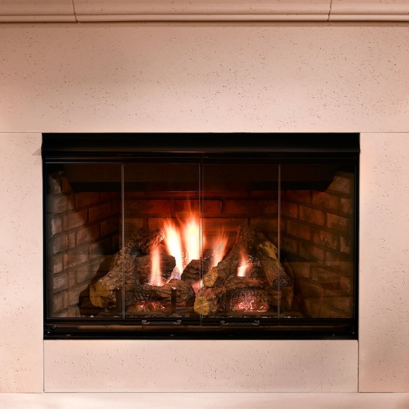 Majestic Reveal 36 B Vent Gas Fireplace Rbv4236 In 2020 With
