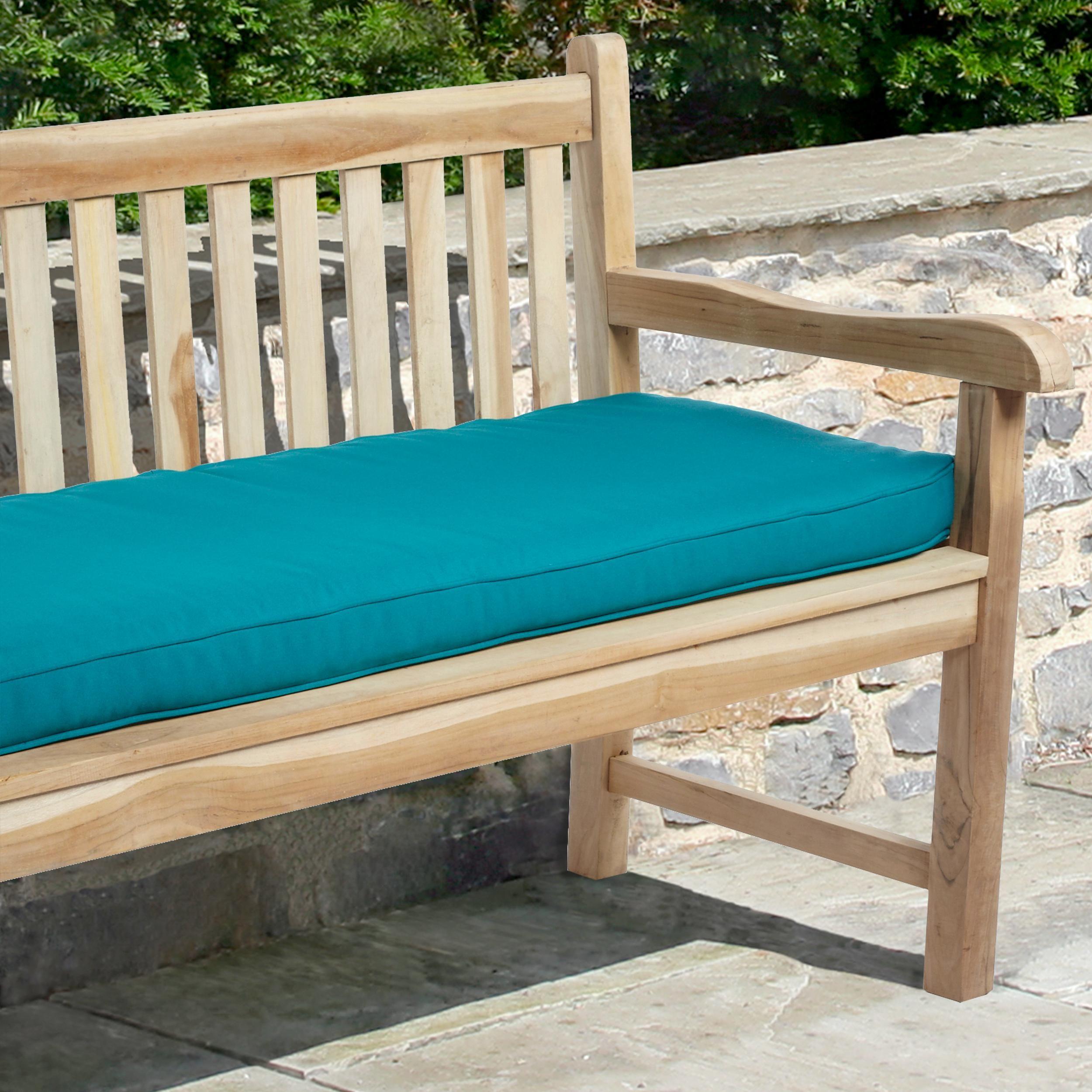 Amazon Mozaic Indoor Outdoor Corded Bench Cushion 48 Inch