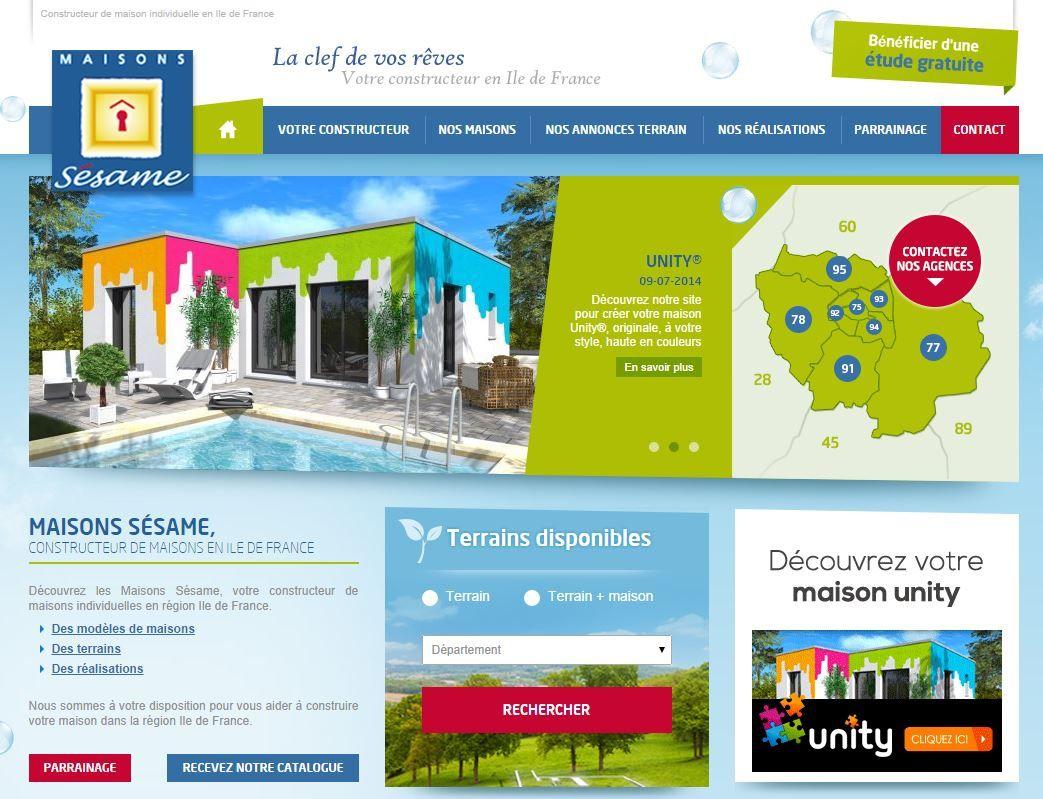 Maisons Sésame, Constructeur De Maison Individuelle En Ile De France.