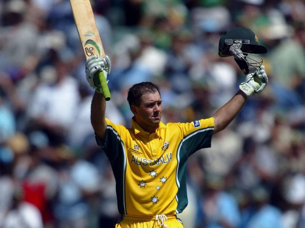 Ricky Ponting Shares Picture Of Bat He Scored Ton With In 2003 World Cup Final In 2020 Ricky Ponting World Cup World Cup Final
