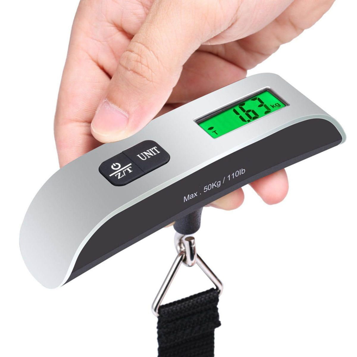 50KG Luggage Scales Handheld Electronic Travel Suitcase Bags Digital Weighing