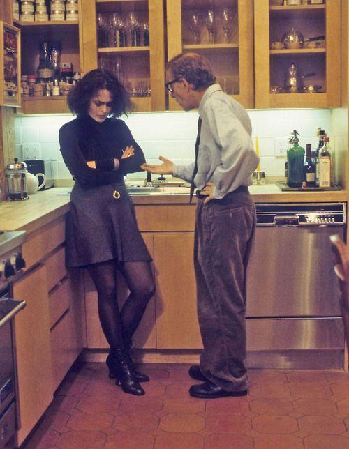 Woody and Helena bonham Carter.