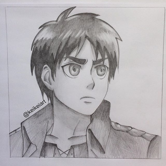 Eren jaeger drawing - photo#50