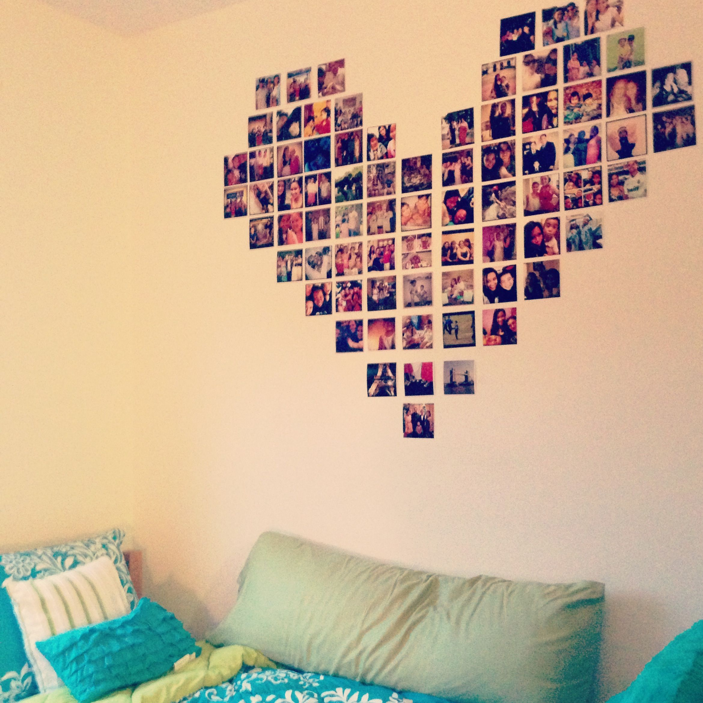 Dorm room photo collage (: | Ideas for my dorm | Pinterest | Dorm ...