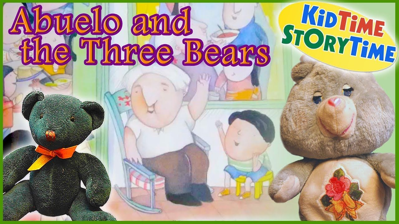 Abuelo and the three bears stories for kids read aloud