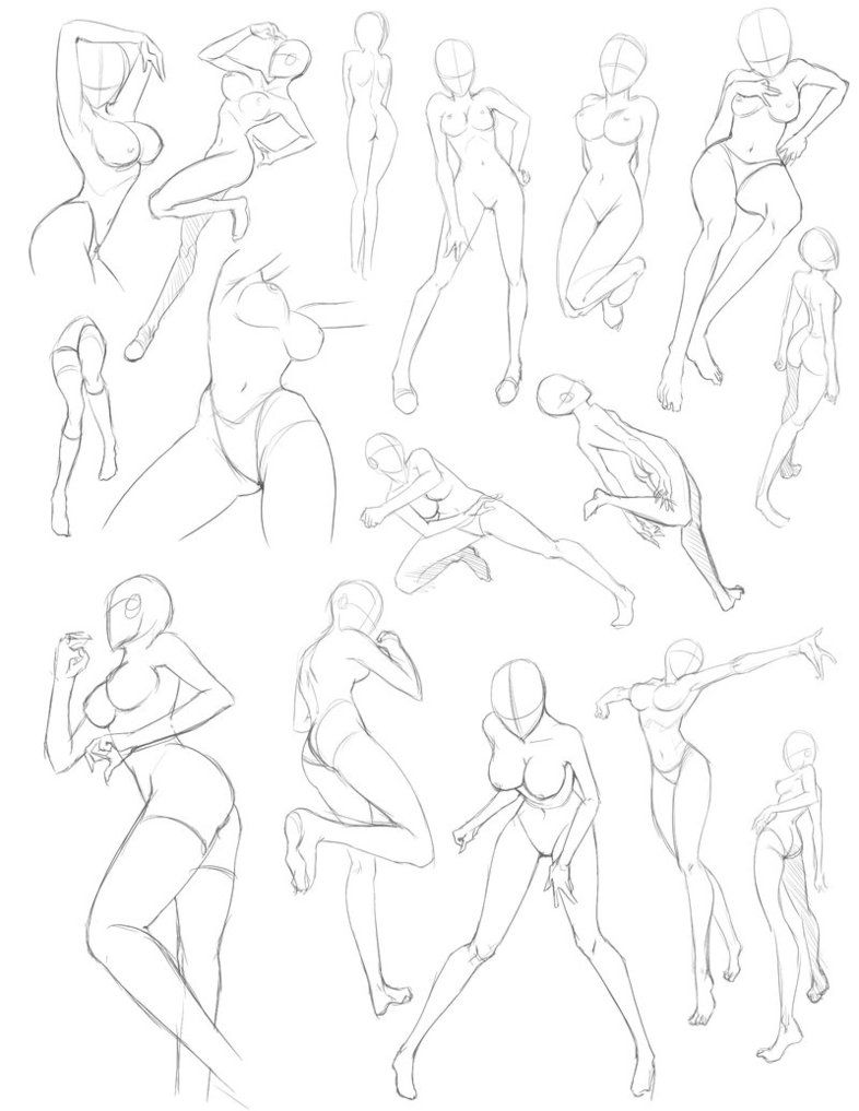Female Fig practice by Quirkilicious | Drawings | Pinterest ...