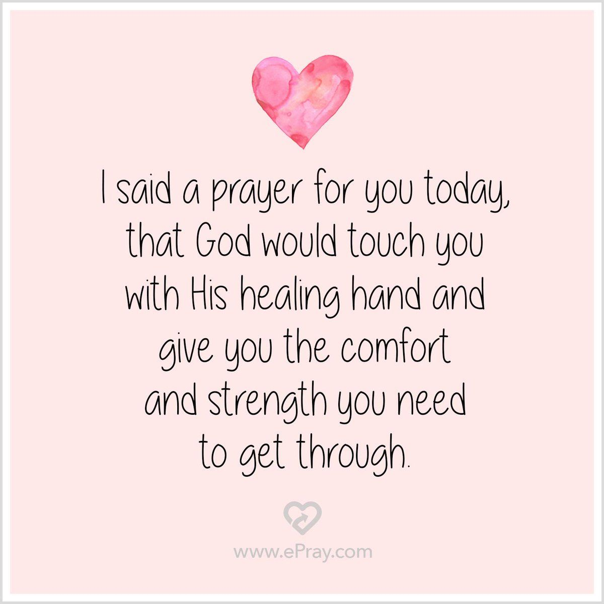 picture regarding I Said a Prayer for You Today Printable called therapeutic prayer for a good friend - Google Appear Rates