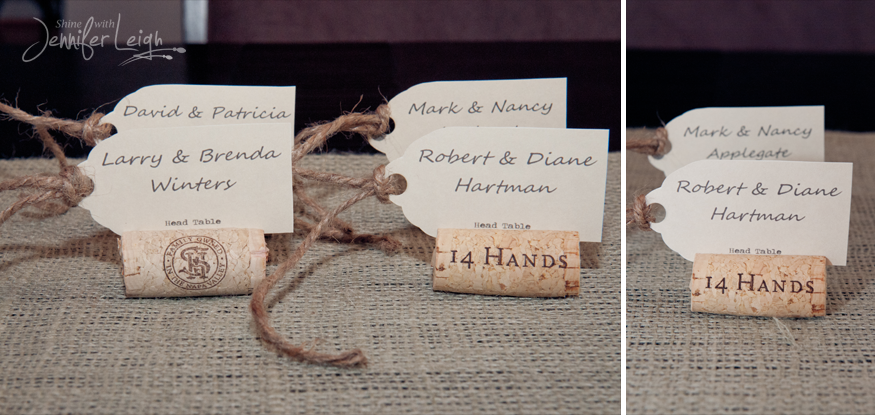 Pictures Of Wine Cork Table Number Holders Cork Place