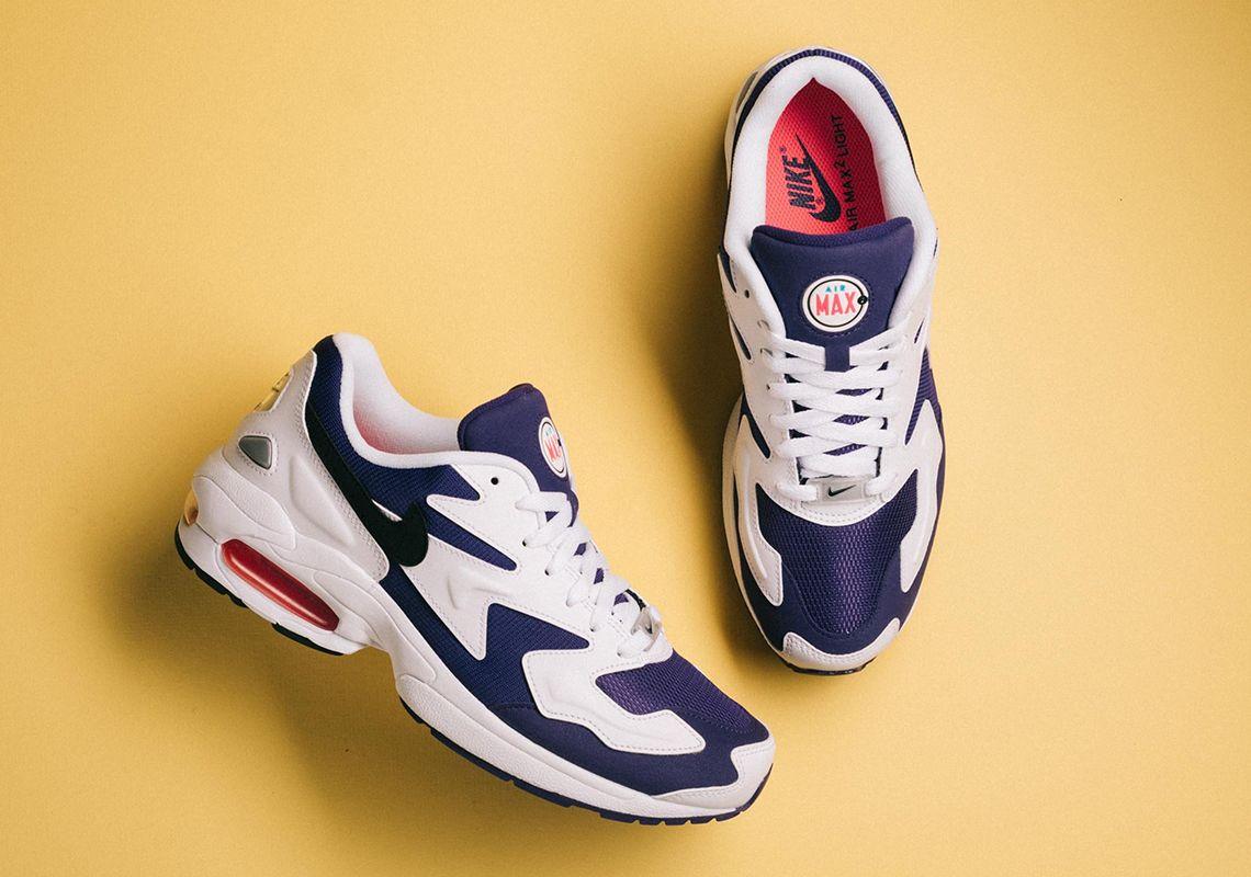 size 40 bf4cb ca63a Nike Air Max 2 Light Court Purple AO1741-103   Sneaker News.com