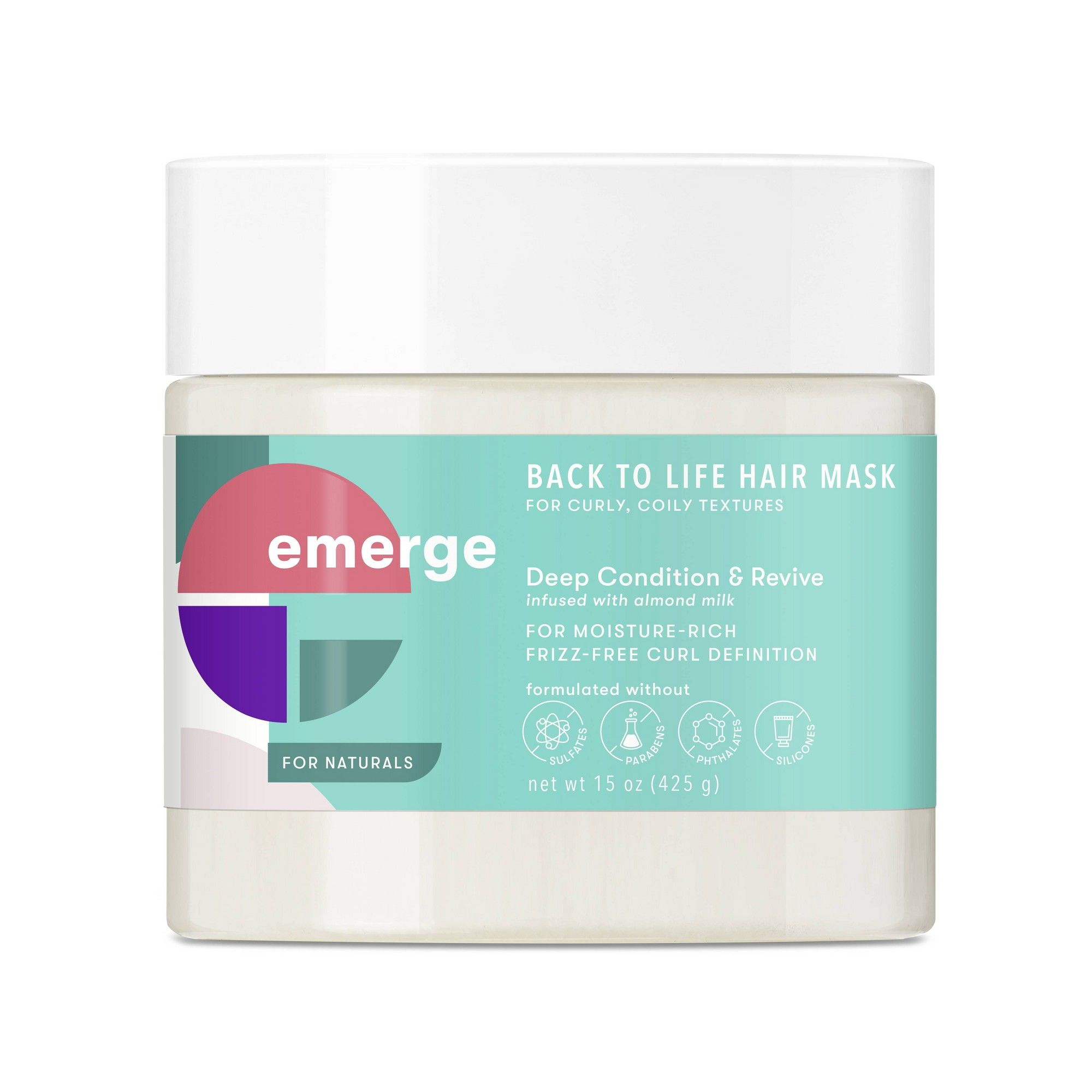 Emerge Back To Life Deep Conditioning Revive Hair Mask 15oz In