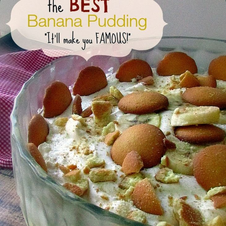 The Best Vanilla Wafer Banana Pudding Recipe In 2019 Desserts Banana Pudding Recipes Desserts Pudding Recipes