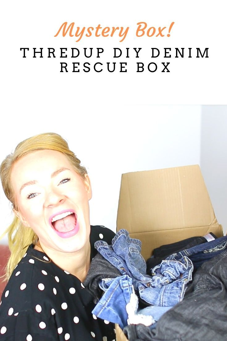 ThredUP Rescue DIY Denim Haul & Unboxing Video Ebay