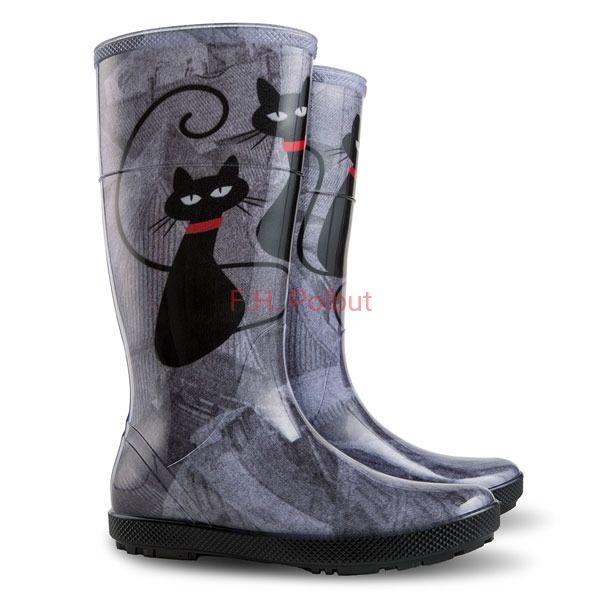 Hawai Lady Exclusive Koty Kalosze Damskie Boots Rubber Rain Boots Rain Boots