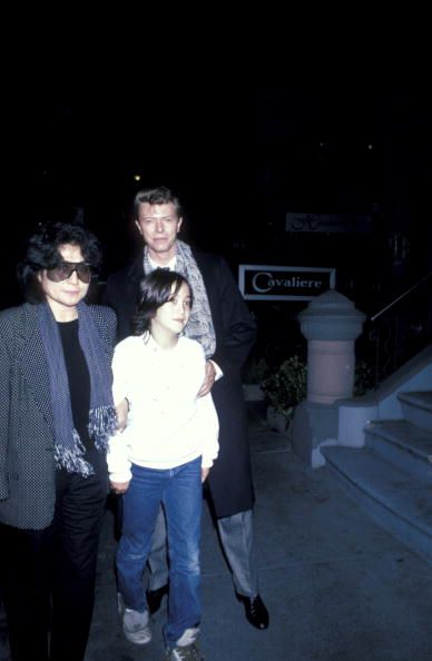 Yoko Ono Sean Lennon And David Bowie David Bowie David Bowie Pictures Bowie