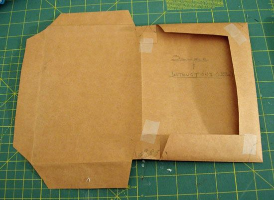 how to make shopping bag textbook covers